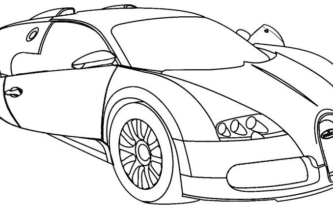 678x425 Coloring Pages Of Cool Cars Coloring Page