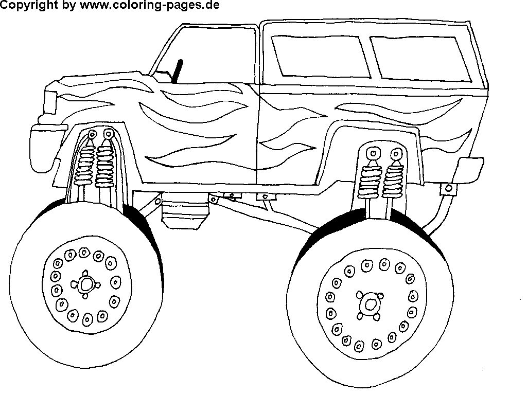 1024x768 Free Printable Cool Cars Coloring Pages Free