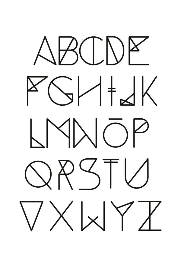 600x849 Cool Letters To Draw Pin Drawn Typeface Neat Letter 8 Letters