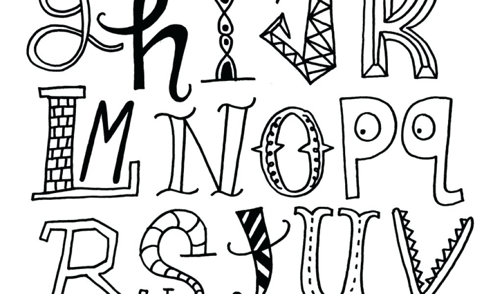 Cool Drawing Fonts At Getdrawingscom Free For Personal Use Cool
