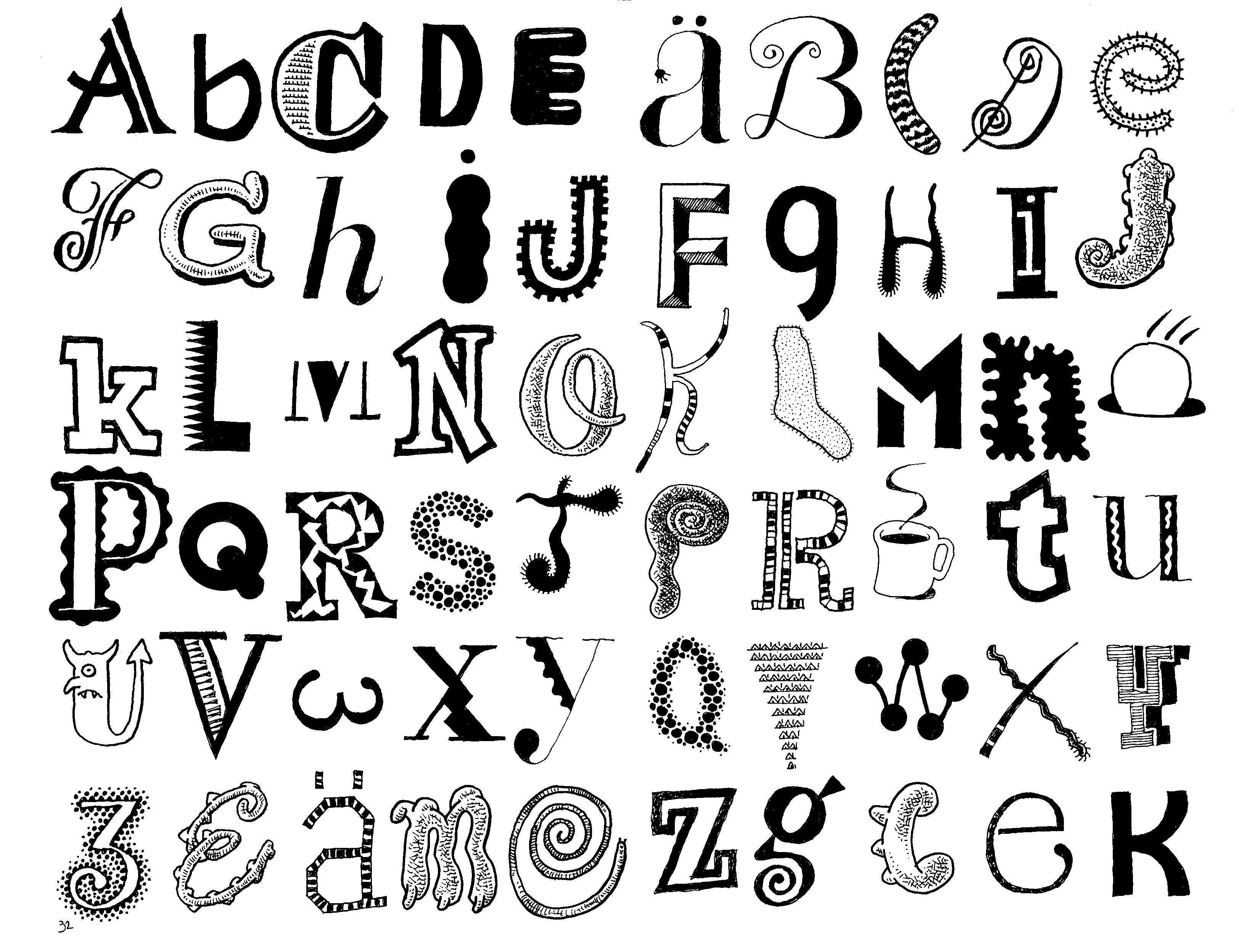 3248x2496 Different Fonts For Drawing Best Ideas About Cool Fonts