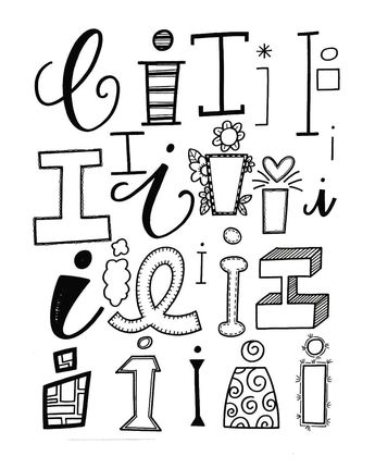 345x430 Pin By Lisa Contreras On Lettering Doodles, Fonts