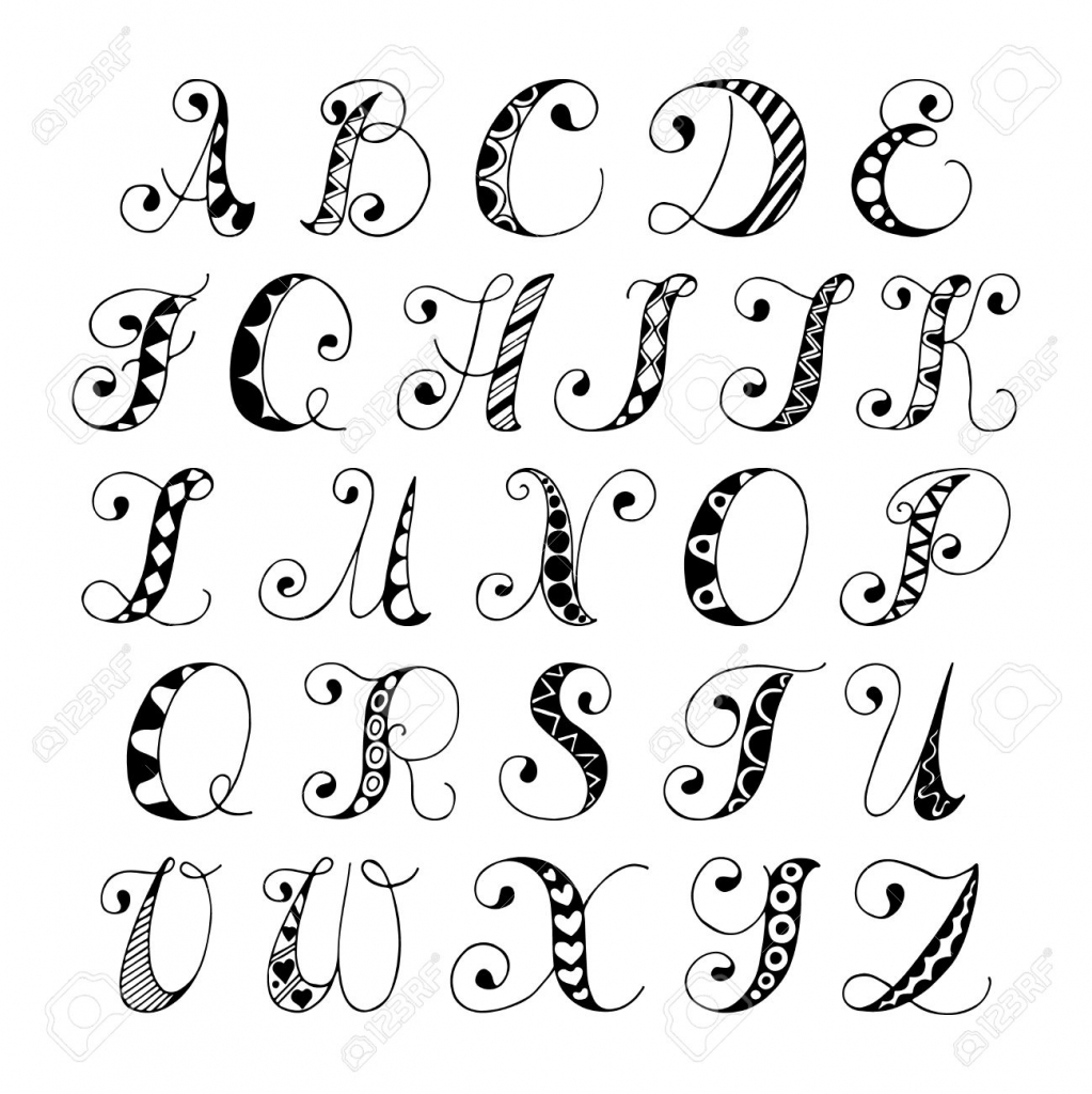 1023x1024 Cool Alphabet Drawing 1000 Images About Fonts On Font