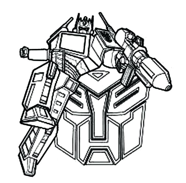 600x592 Cool Optimus Prime Coloring Pages Free Download Pictures To Color