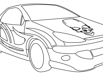 440x330 Coloring Pages Of Cool Cars. Free Race Car Coloring Pages Cars