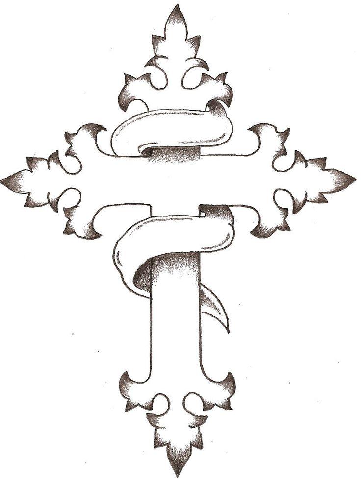 Cool Drawing Of Crosses