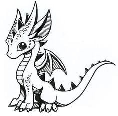 236x231 Dragon Drawings Baby Wolf Winter Dragon Drawings
