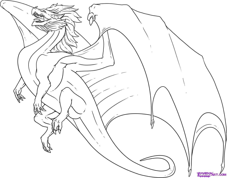 1500x1173 Drawn Dragon