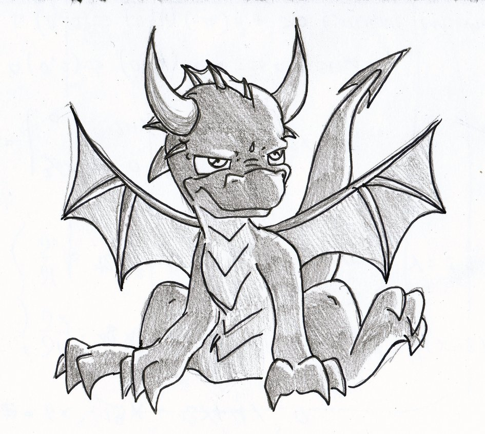945x845 Just A Little Sketch Of A Dragon. Description From Umpherio