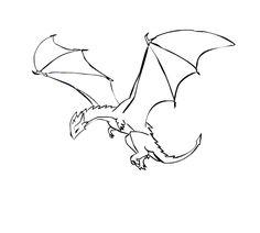 236x212 Realistic Dragon Drawings