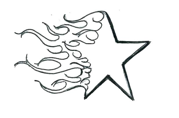 618x407 Coloring Pages Of A Star Hearts And Stars Coloring Pages Coloring
