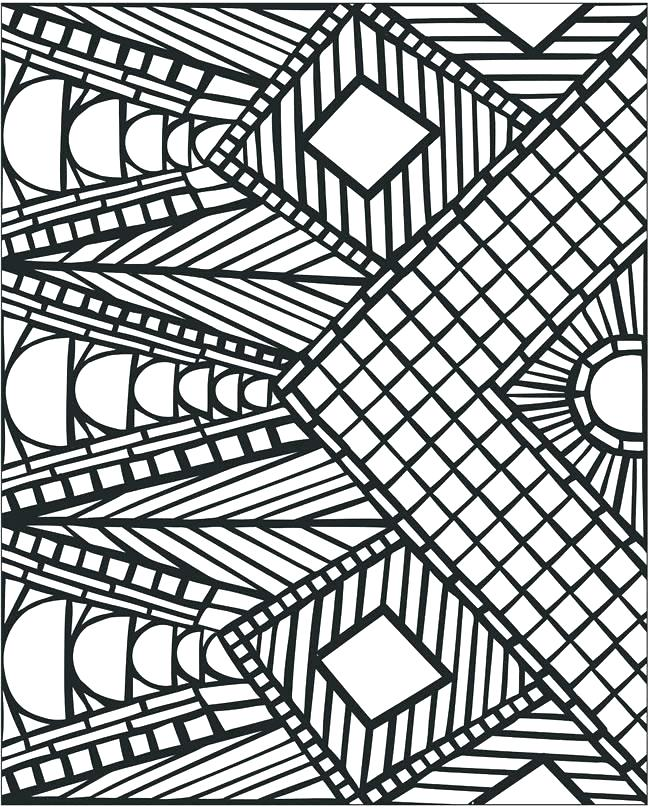 650x809 Cool Pattern Coloring Pages Best Pattern Coloring Pages Awesome