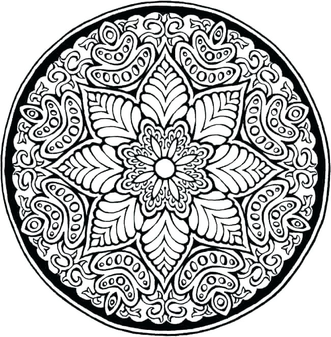 650x662 Coloring Pages With Patterns Joandco.co