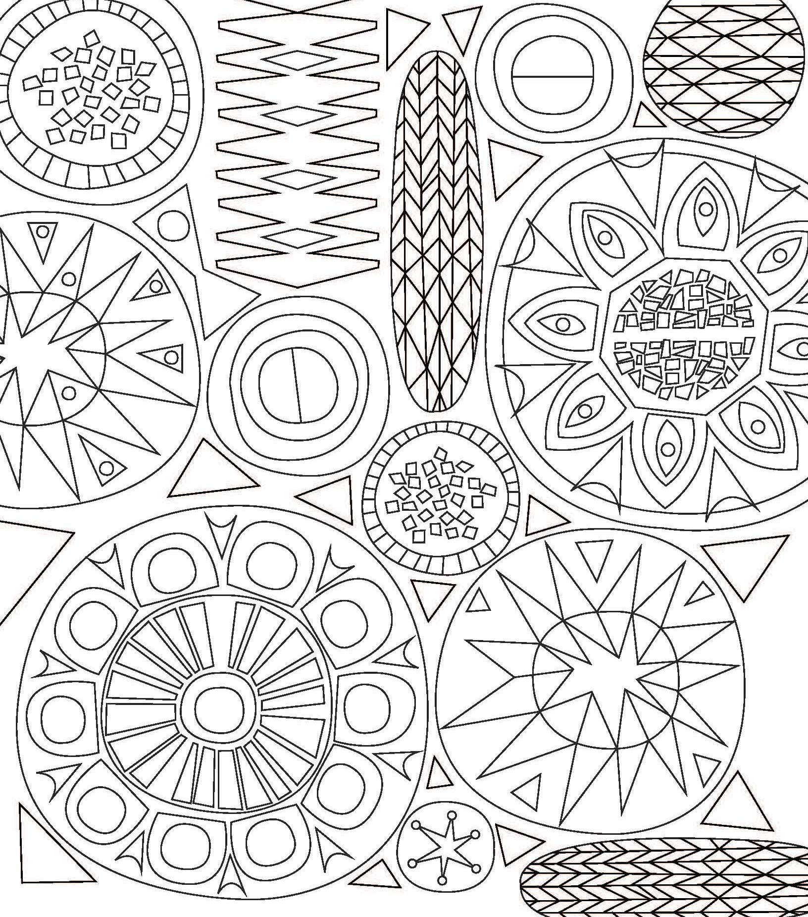 1632x1851 Coloring Book Patterns Pages