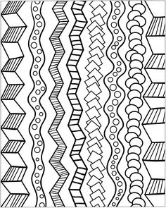 236x295 Zentangle Basics Patterns For Kids