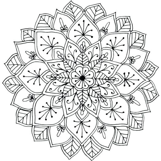 525x525 Cool Design Coloring Pages Cool Colouring Patterns Download