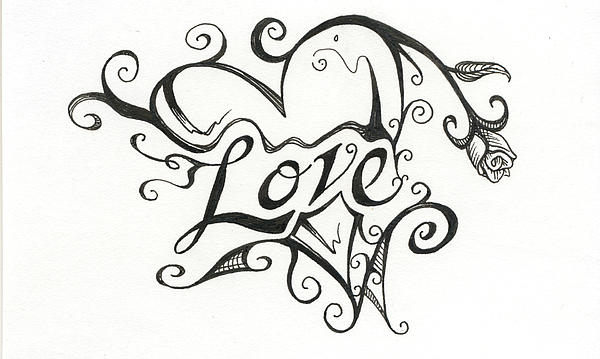 600x359 Romantic Love Drawings 17 Cool Wallpaper