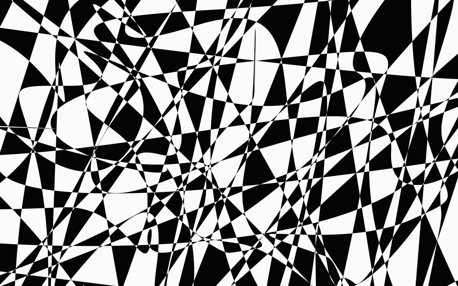 1920x1200 Black And White Line Drawing Wallpaper Black And White Abstract