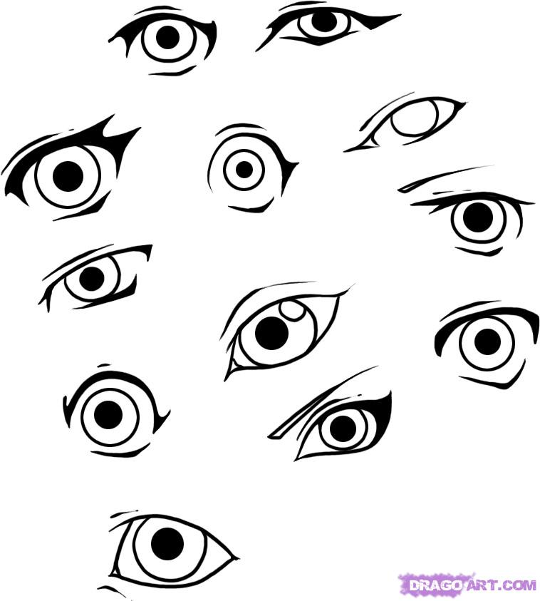 758x843 Pictures Cool Easy Eyes To Draw,