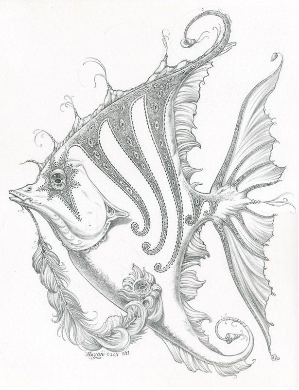 Cool Fish Drawing
