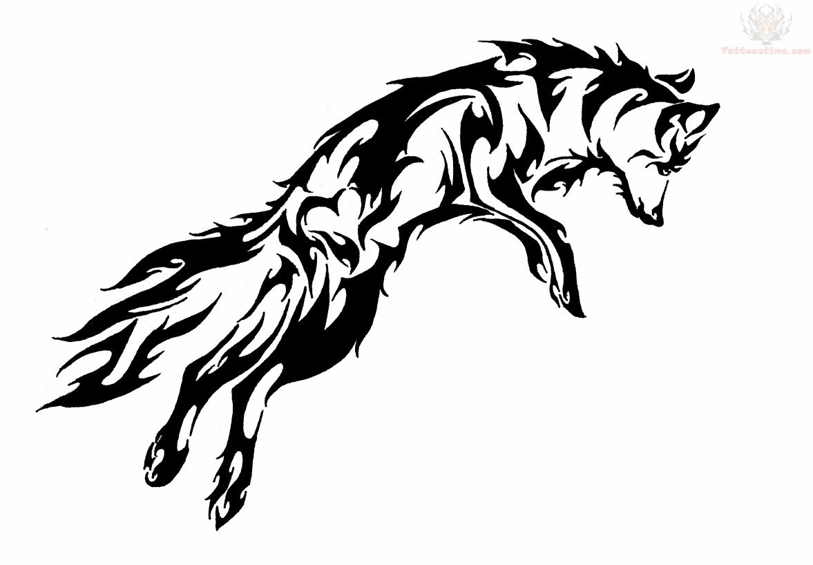 Coloring Pages Wolf : Cool fox drawing at getdrawings.com free for personal use cool fox