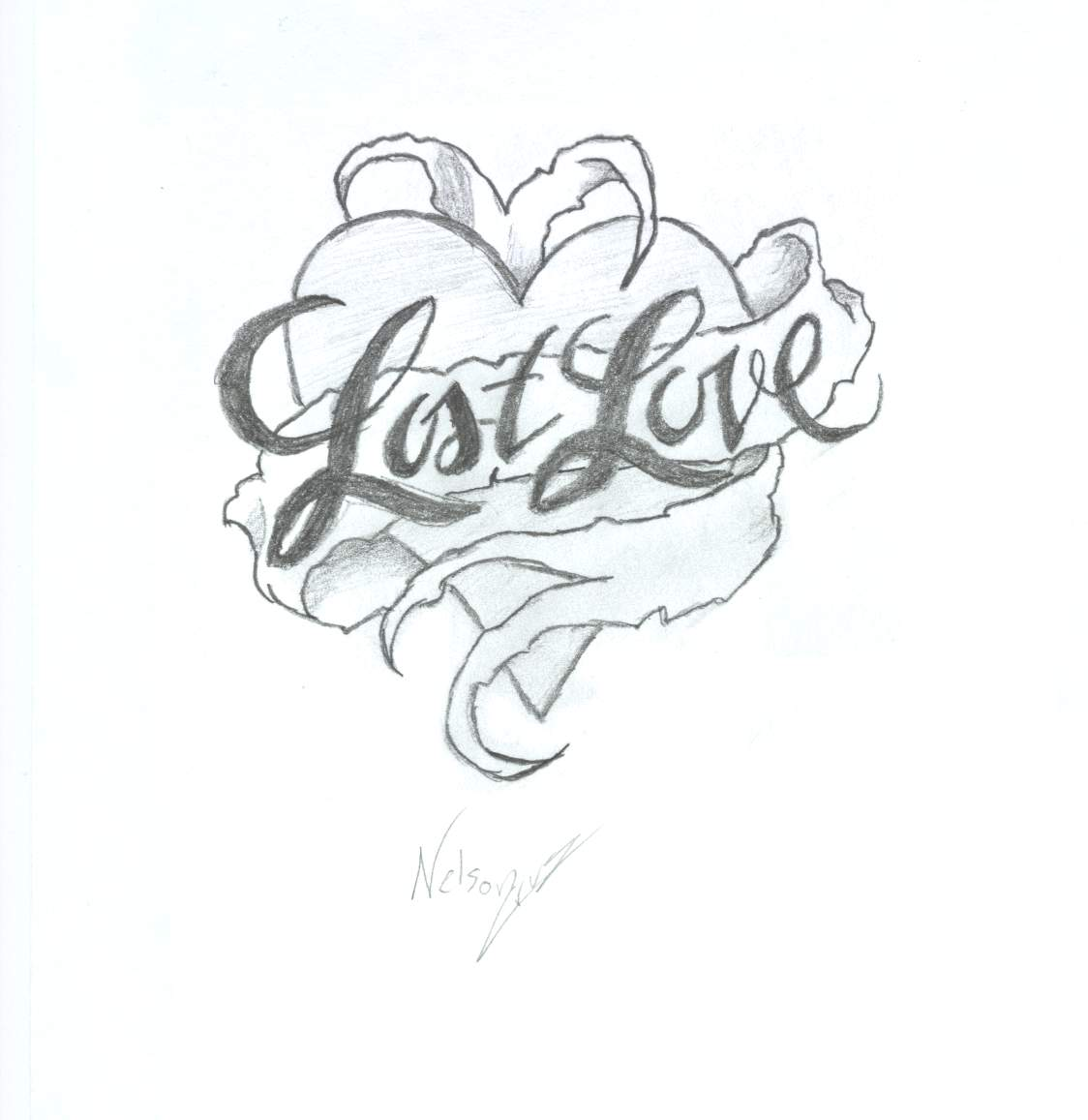 cool heart drawing at getdrawings | free for personal use cool