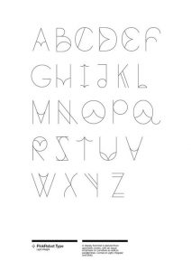 Cool Letters Drawing