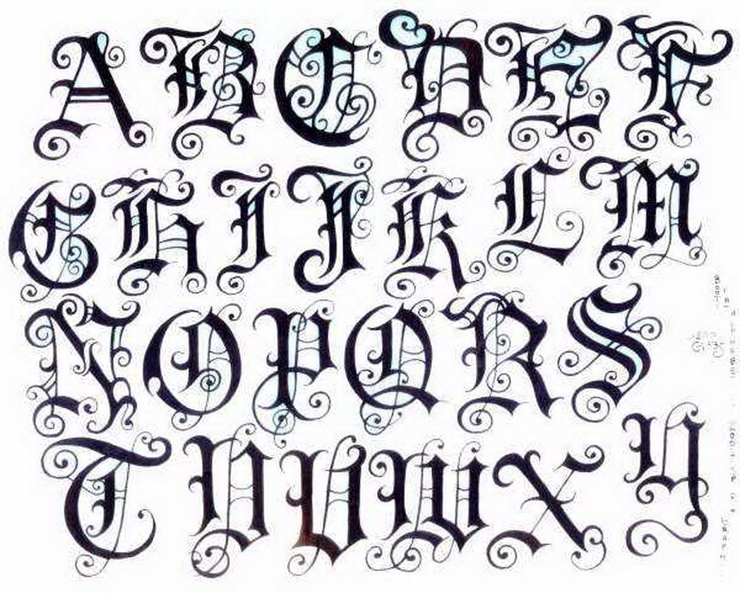 1048x840 Old English Tattoo Letters Elaxsir