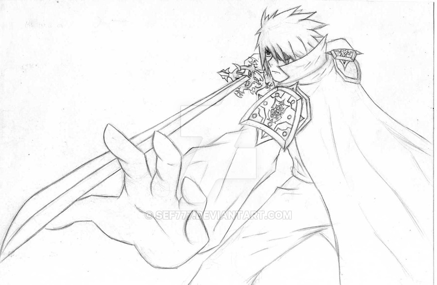 900x587 Greed A Cool Anime Swordsman By Sef777