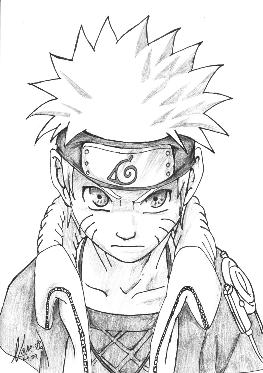 900x1273 Naruto Cool By Himawarinana