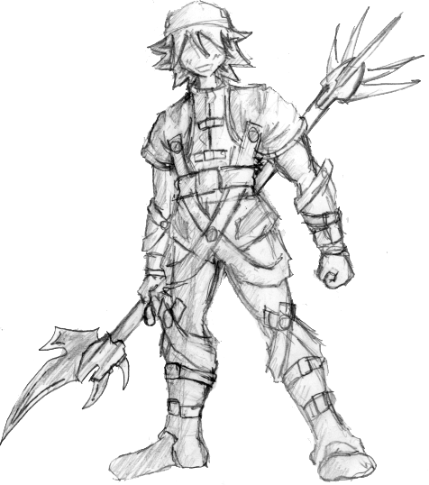 476x538 Cool Armor Guy Sketch By Doji
