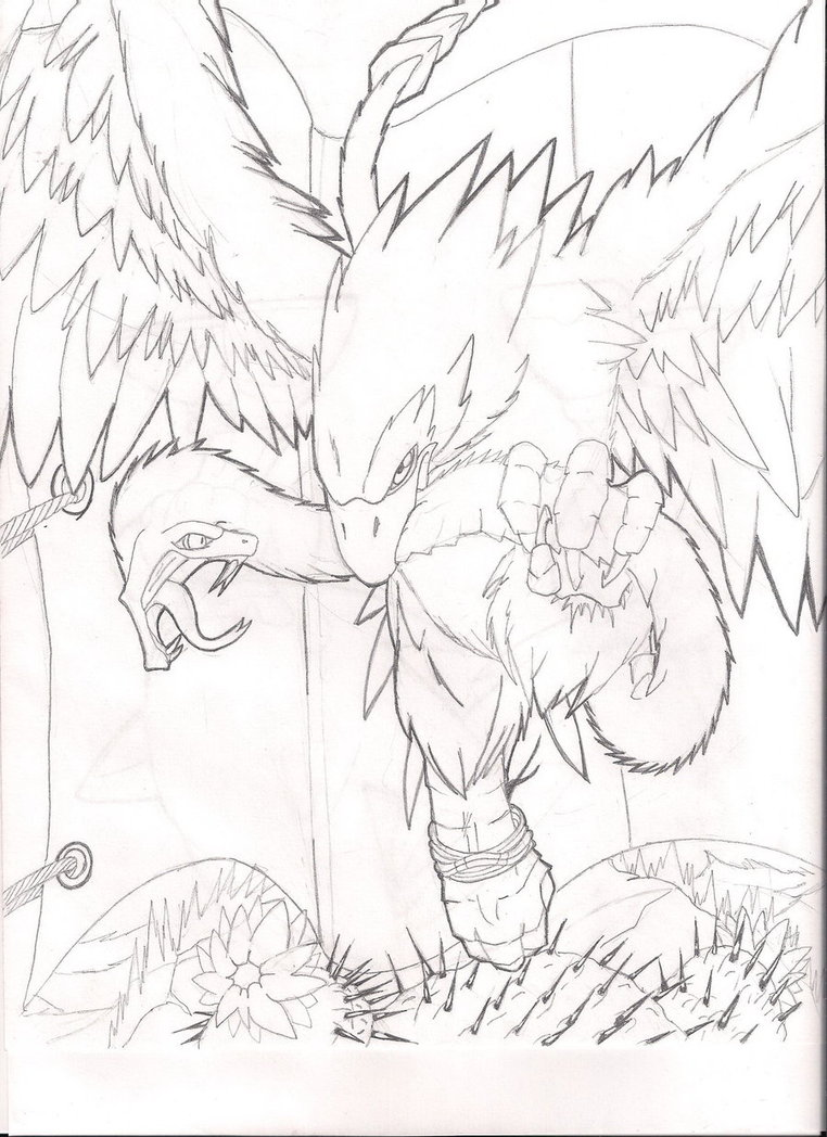 762x1048 Mexican Eagle By Rampage625