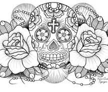 215x185 Mexican Skull Images