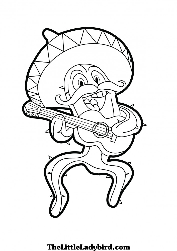 706x1000 Special Mexican Flag Coloring Page Cool Book G