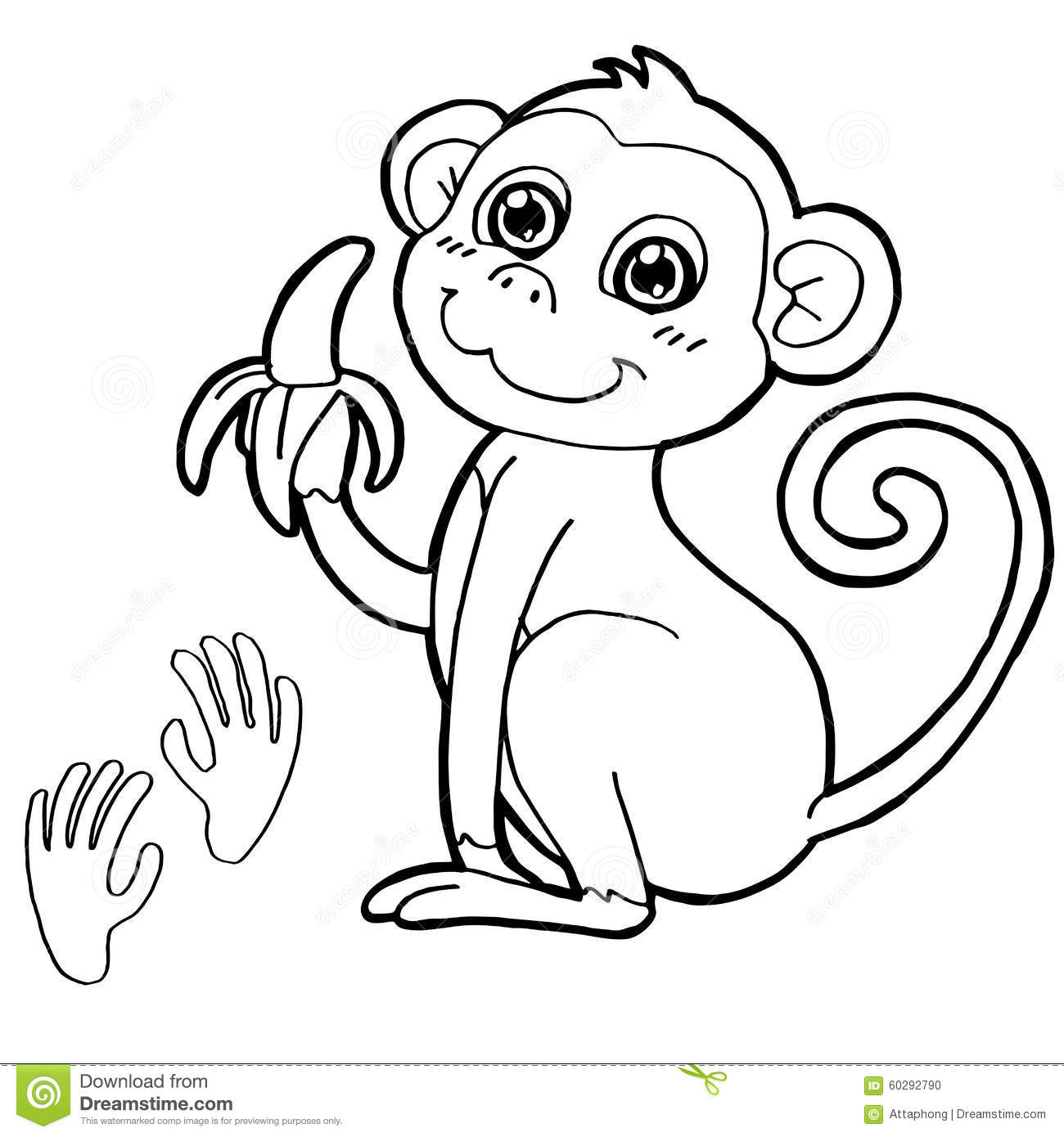 1300x1390 Unique Monkey Pictures To Print Best Ideas For You