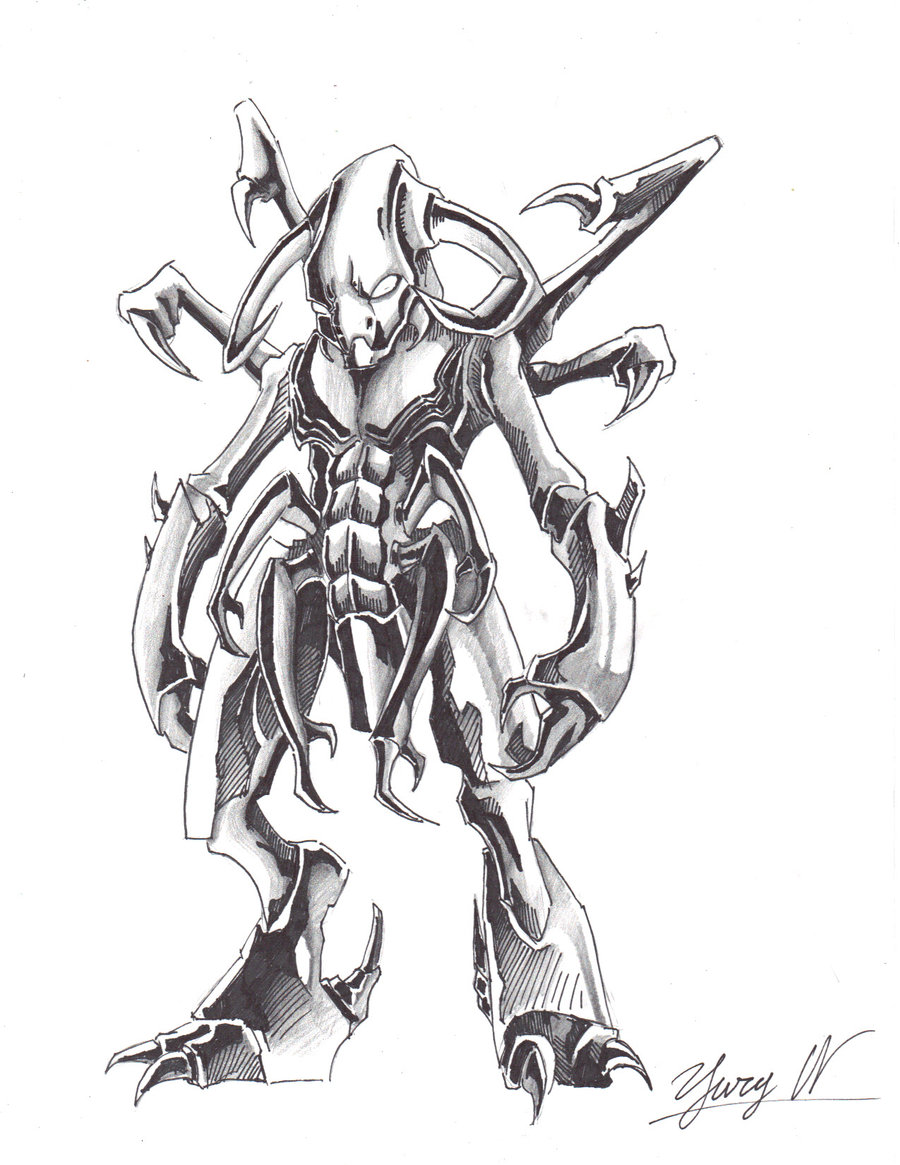 900x1165 Demonic Monster By Alphalifeform