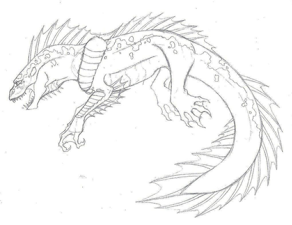 1020x784 Cool Monster Drawings Drawn Monster Cool Monster