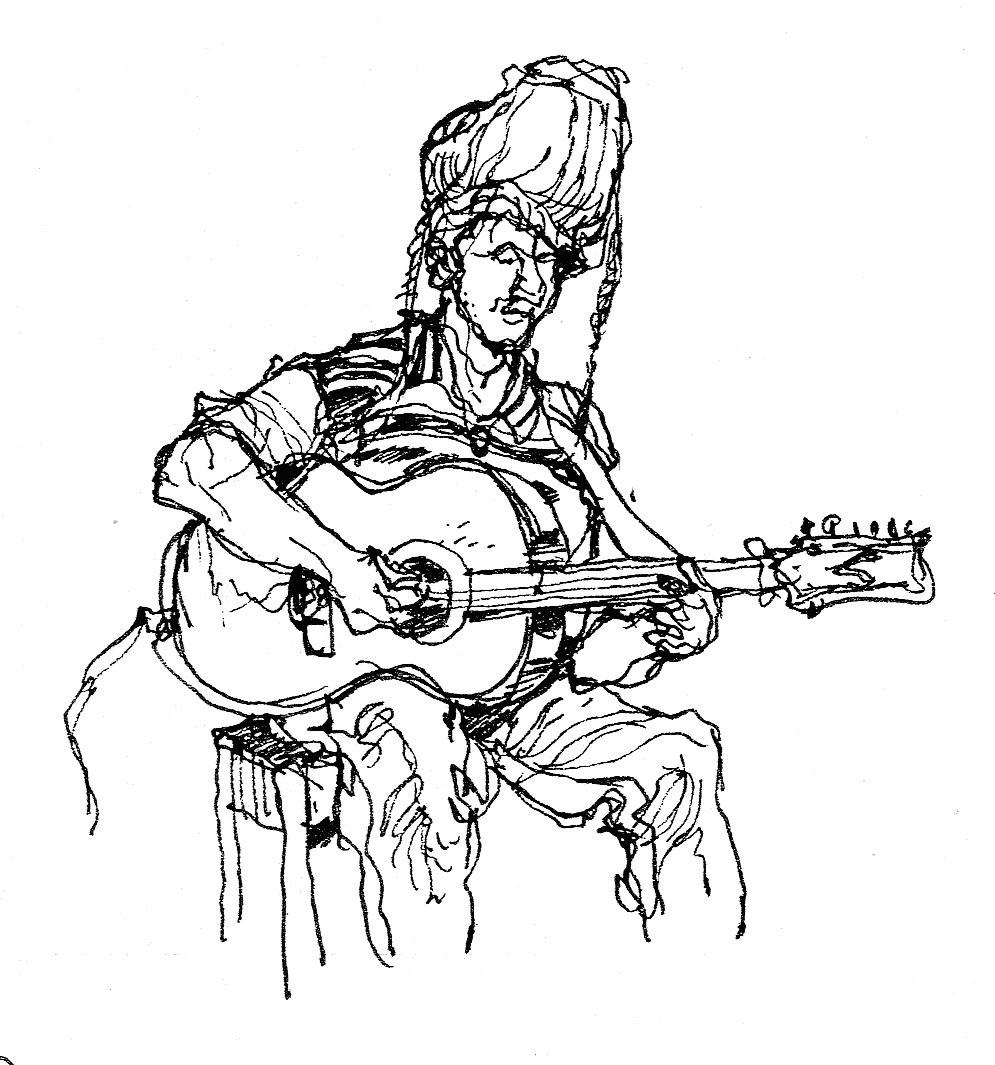 995x1065 Dai's Reportage Drawing Bands Amp Varied Musicians