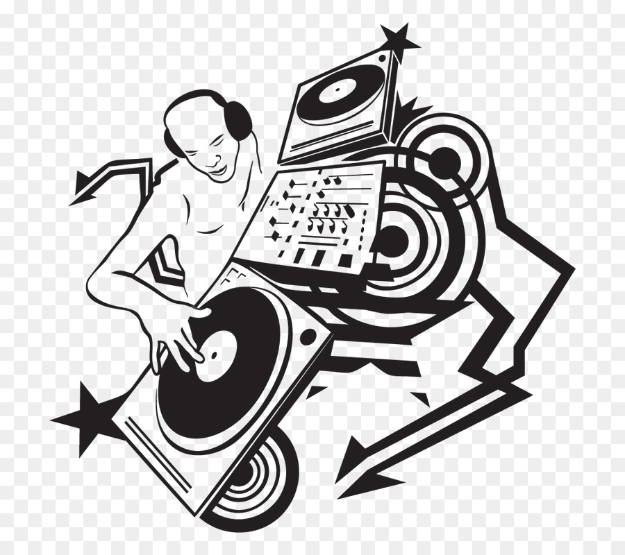 900x800 Drawing Disc Jockey Music Clip Art