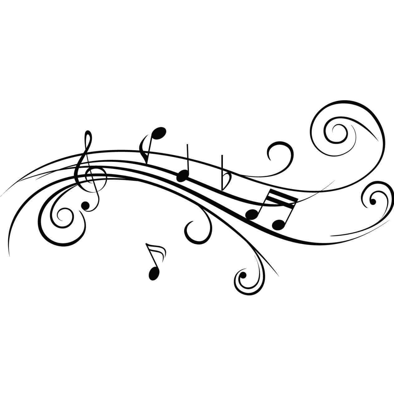 1264x1264 Note Cool Music Notes Drawings Drawing Free Download Clip Art