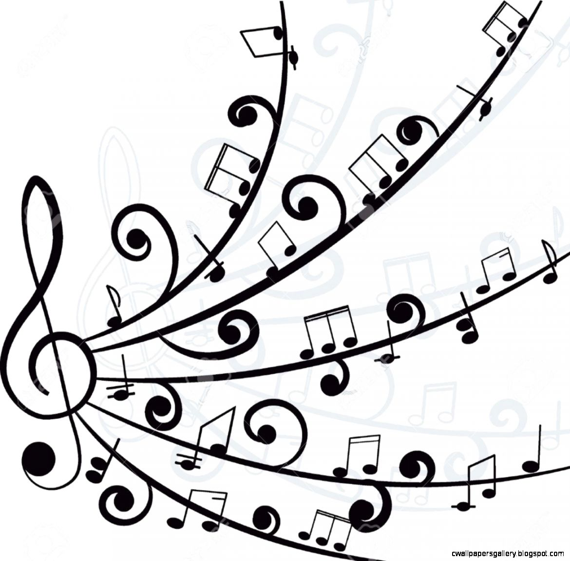1170x1151 Cool Music Designs Black And White Wallpapers Gallery
