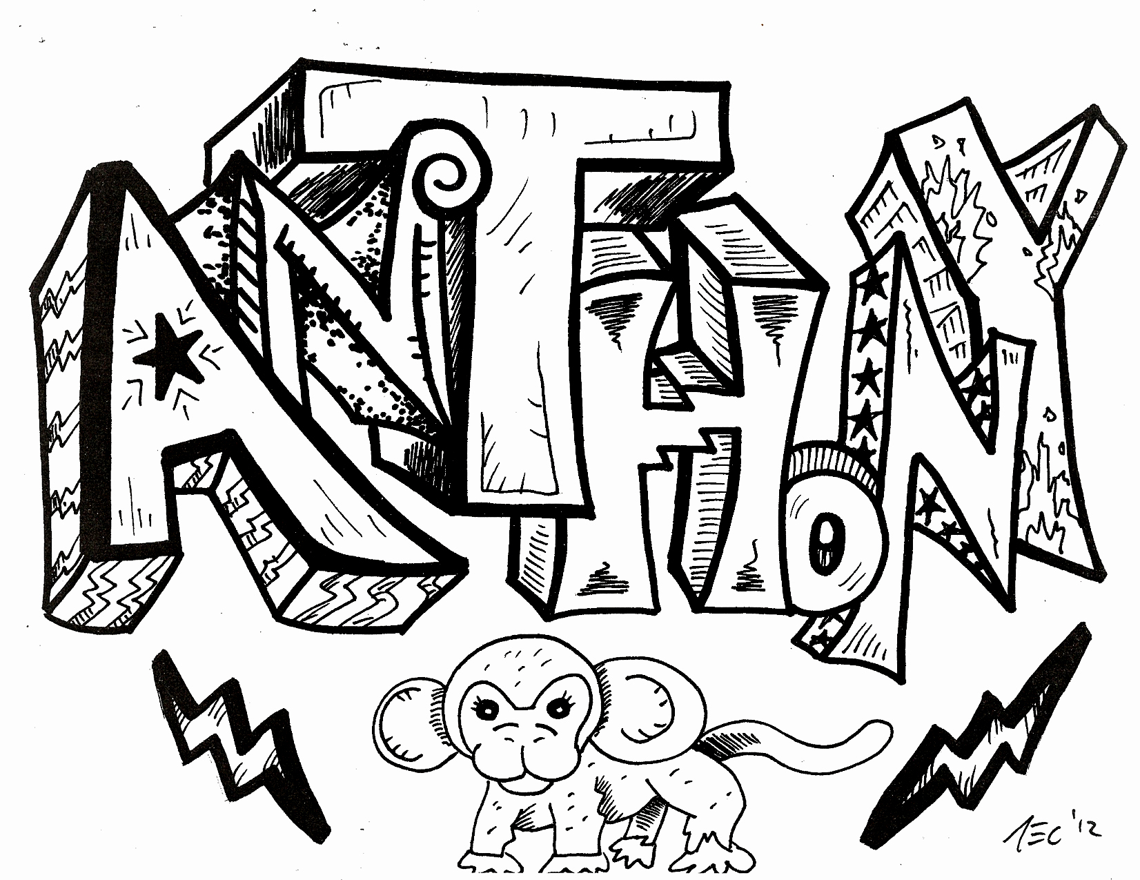 Cool Name Drawing At Getdrawings Com Free For Personal Use Cool