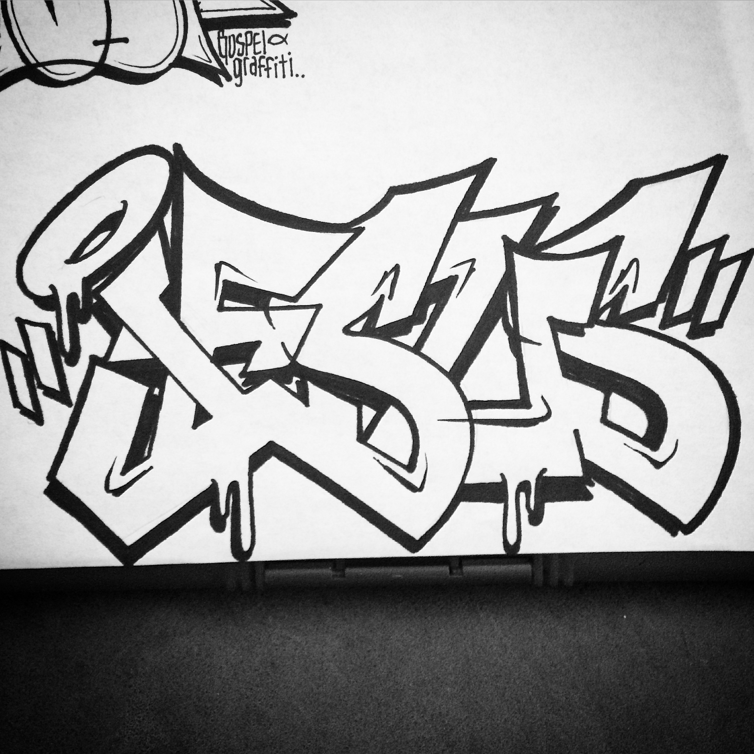 2416x2416 Graffiti Designs To Draw For A Gospel Name Sketch Archives