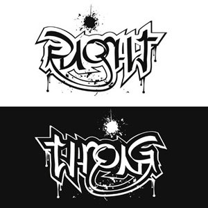 300x300 40 Cool And Creative Ambigram Designs