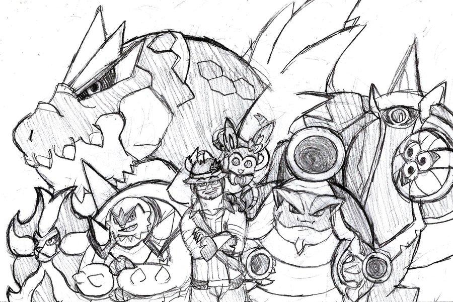 900x601 My Pokemon X Team By Brian12