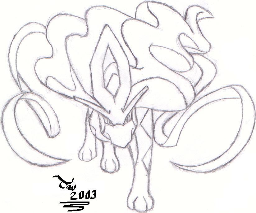 824x688 Suicune A Cool Pokemon By Garumumon