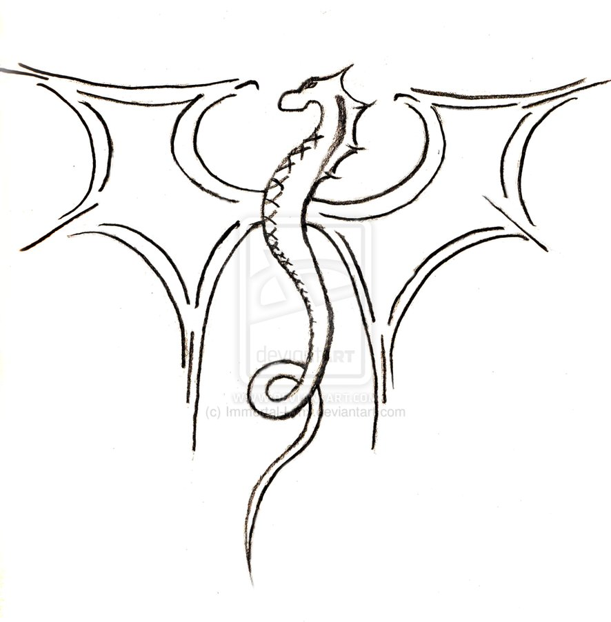 886x902 Pix For Gt How To Draw A Cool Dragon Easy Beads