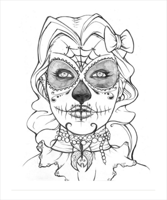 cool skeleton drawing at getdrawings  free download