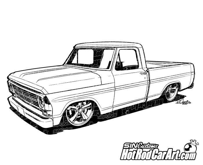 Cool Truck Drawing