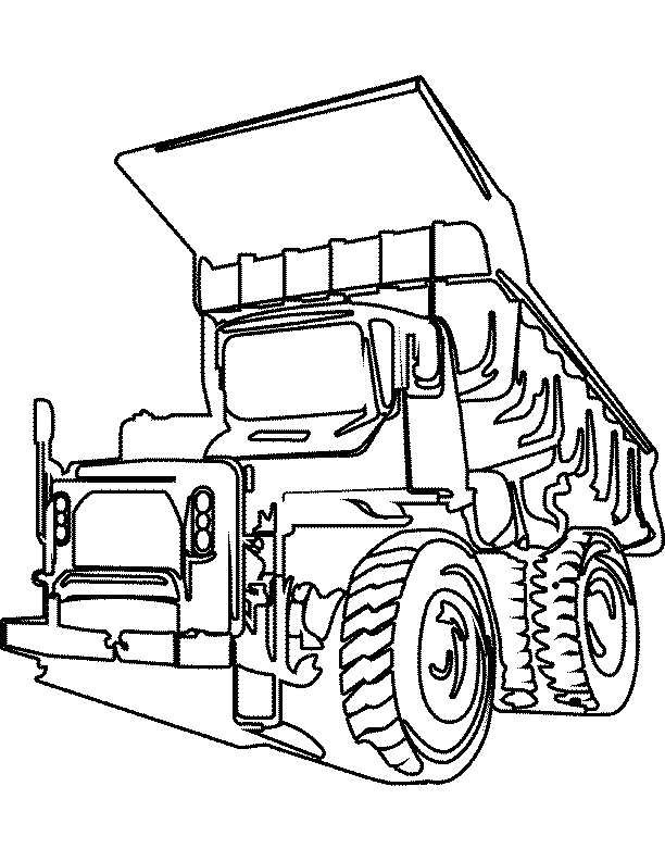 612x792 Cool Truck Coloring Pages Cool Ideas For You